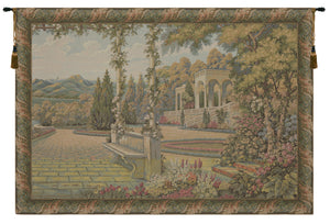 Lake Como Terrace Small Border Italian Tapestry