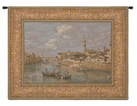 Florence from the Arno Italian Tapestry Wall Hanging