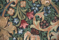 Golden Lily by William Morris European Throw