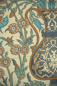 Bright Floral with Urns European Tapestry