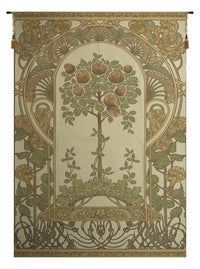 Rose Bush Beige European Tapestry