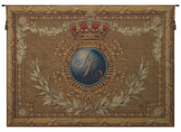 Coat of Arms A.K. Horizontal French Tapestry