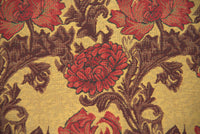 Chrysanthemum Bordo II Belgian Throw