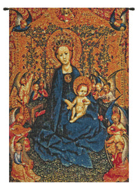 Maria with Child Belgian Tapestry Wall Hanging