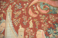 The Hearing 1 Large French Tapestry Cushion