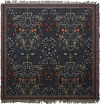 Blackthorn by William Morris European Throw