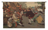 The Farmer's Dance Belgian Tapestry