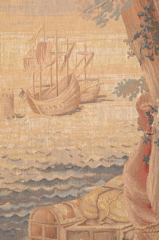 Le Port French Tapestry