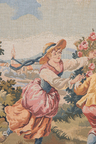 Children Belgian Tapestry Wall Hanging