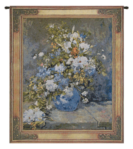 Spring Bouquet by Renoir Belgian Tapestry Wall Hanging