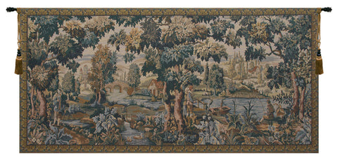 Paysage Flamand Belgian Tapestry Wall Hanging