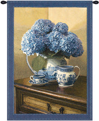 Blue Willow Fine Art Tapestry
