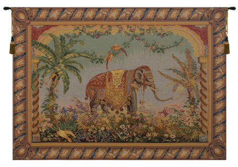 Le Elephant  French Tapestry