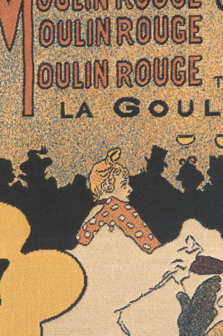 Moulin Rouge Lautrec European Tapestry