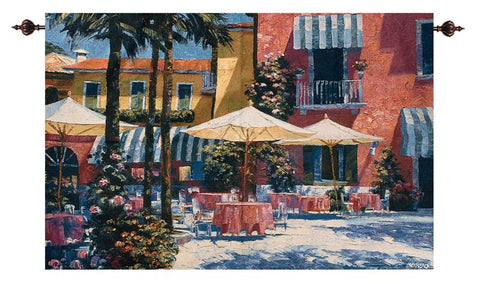 Inn at Lake Garda Fine Art Tapestry