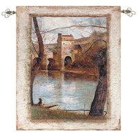 The Bridge Fine Art Tapestry