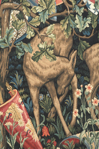 Verdure with Reindeer European Tapestry