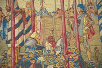 A la Cour du Roy French Tapestry Wall Hanging