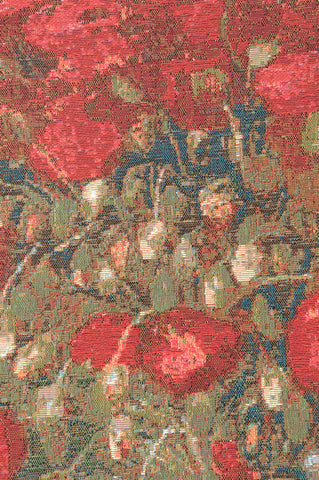 Poppies Van Gogh French Tapestry
