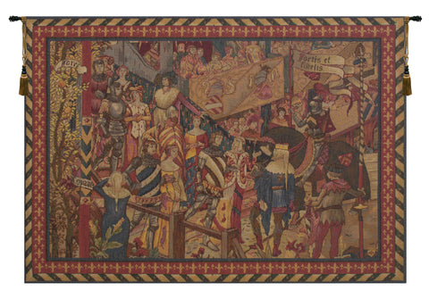 Le Tournai I Horizontal French Tapestry