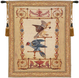 Perroquet et Cacatoes French Tapestry