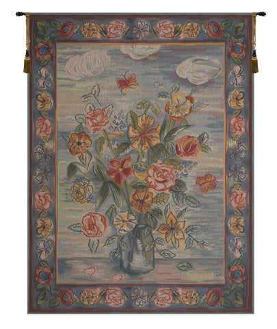 Modern Style Bouquet French Tapestry
