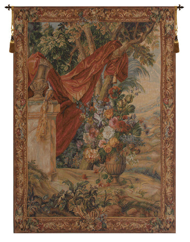 Bouquet Au Drape I French Tapestry
