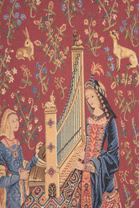 The Hearing L'ouie European Tapestry