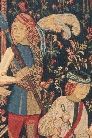 The Hunt Amour Eternelle Belgian Tapestry Wall Hanging