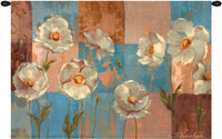 Whispering Flowers Fine Art Tapestry