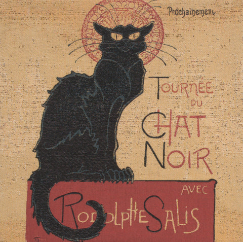 Tournee Du Chat Noir European Cushion Cover
