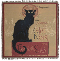 Chat Noir European Throw