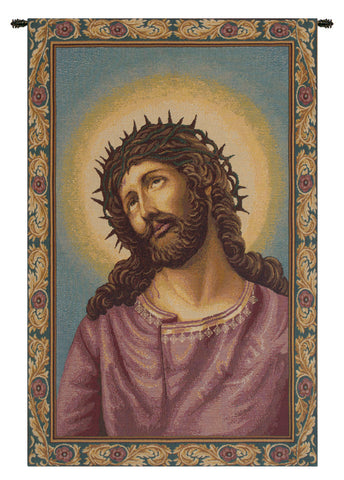 Christ's Thorns Coronation Italian Tapestry Wall Hanging