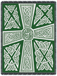 Celtic Crosses Tapestry Throw