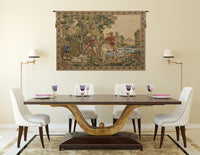 Noble Hunt Belgian Tapestry