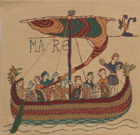 Bayeux Mare Belgian Cushion Cover