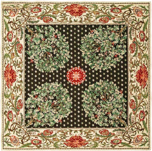 Tree of Life - Green Belgian Throw