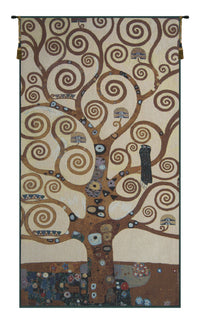 Klimts The Tree of Life Tapestry Wall Hanging