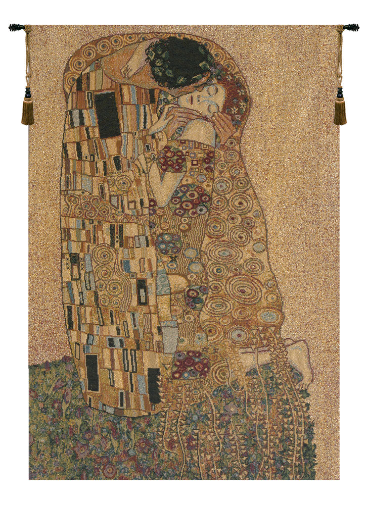 The Kiss II Italian Tapestry Wall Hanging