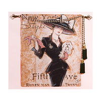 New York Socialite Fine Art Tapestry