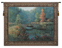 Countryside Bridge Tapestry Wall Hanging