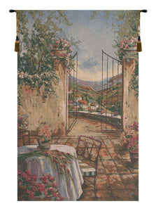 Table for Two I European Tapestry