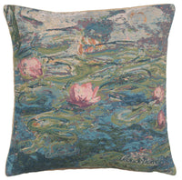 Monet's Water Lilies II European Cushion Cover
