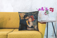 Renoir's Dance in the Country I European Cushion Cover