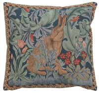 Rabbit As William Morris II French Tapestry Cushion