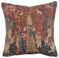 The Smell 1 Small French Tapestry Cushion