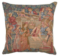 The Wine Press French Tapestry Cushion