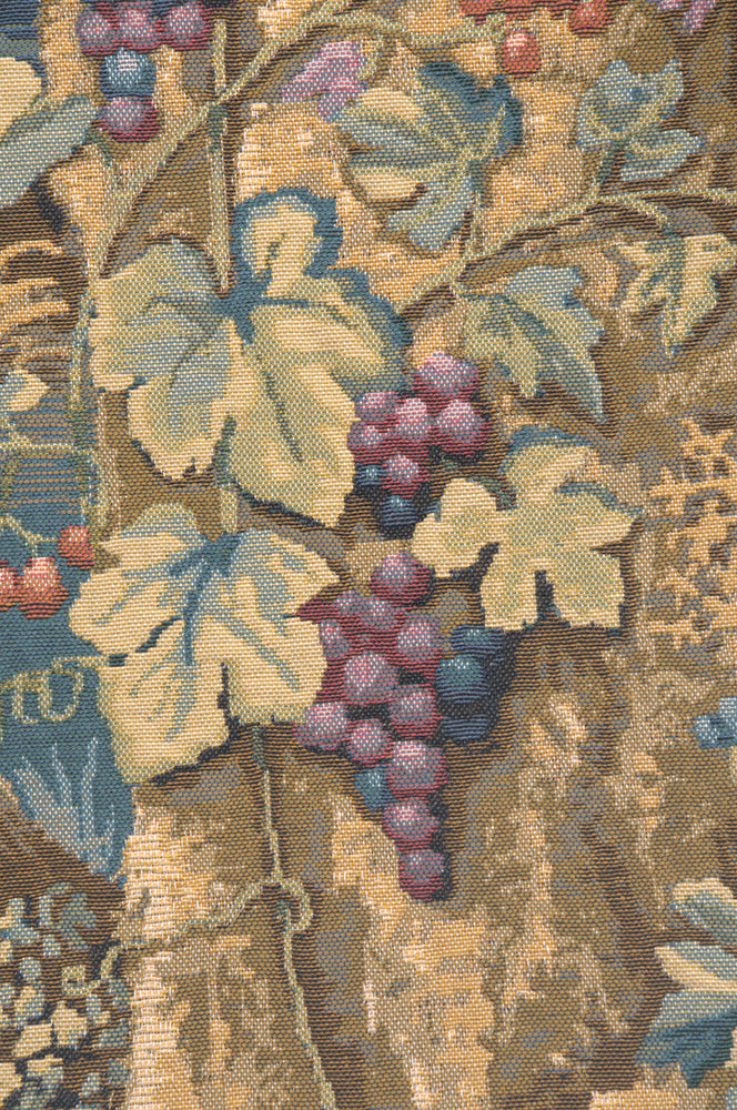 Wawel Timberland Grapes Belgian Tapestry Cushion