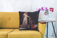 Knighted Decorative Pillow Cushion Cover