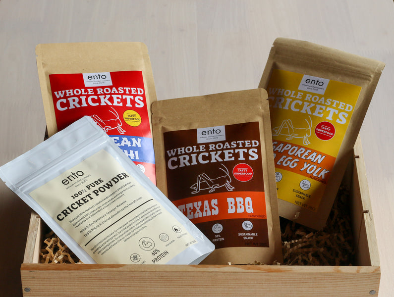 Malaysian start-up offering artisanal roasted crickets as delicious healthy snacks